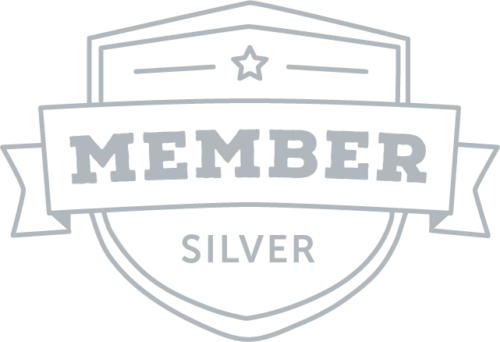 image of membership icon in silver