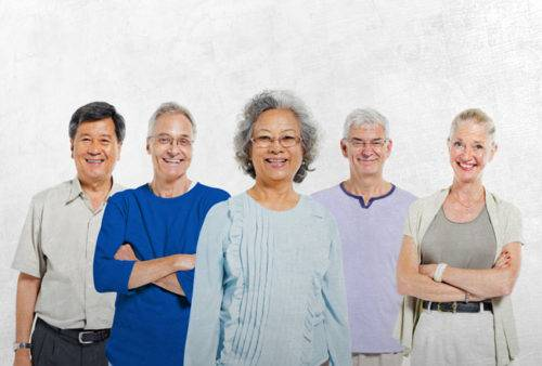 image of senior citizens