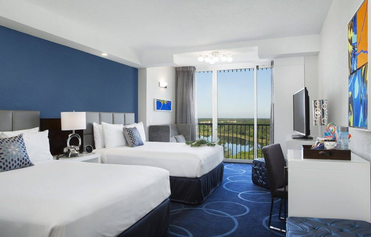 image of hotel room Queen tower
