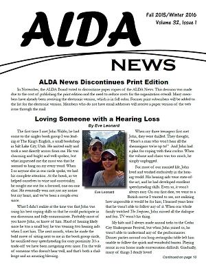 small image of ALDA News