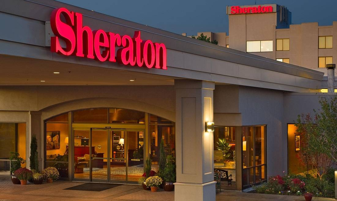 Exterior Photo of Sheraton Portland Airport