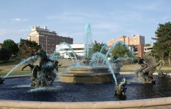 Photo of KC fountains