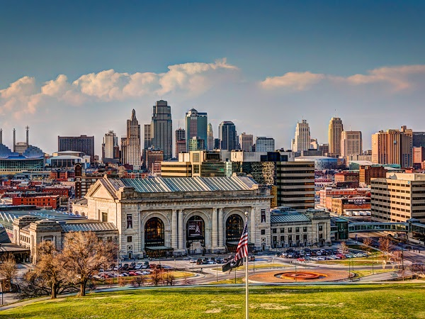 Photo of KC skyline