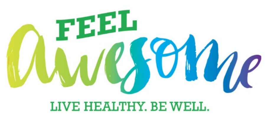 Feel Awesome Live Healthy Be Well.