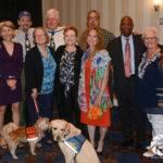 Nine former ALDA presidents pose for photo op