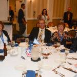 One of the tables at the I. King Jordan Awards Banquet