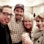Ken Arcia (left), Bill Graham, Kim Mettache & Lois Maroney (right) at the I. King Jordan Awards Banquet