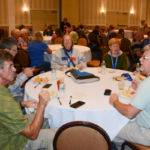 One of the tables at an ALDAcon 2016 luncheon