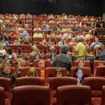 Saturday Afternoon: ALDAcon Attendees Waiting for Optional Free Movie (Wonderstruck) to Start